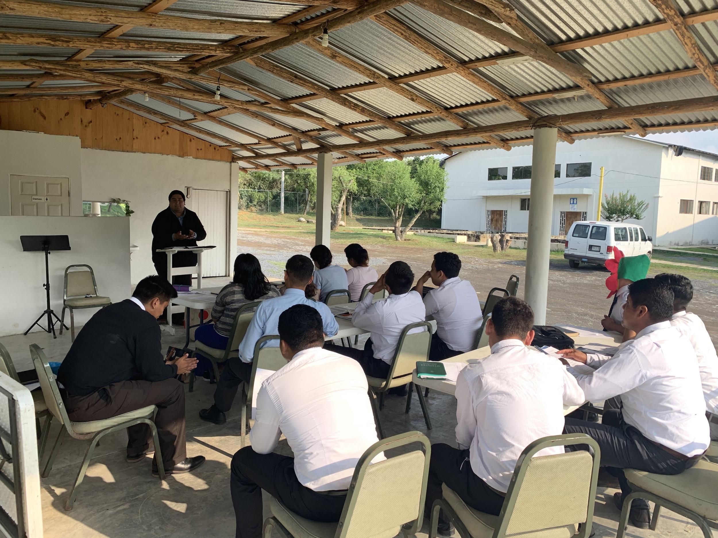 Training National Pastors