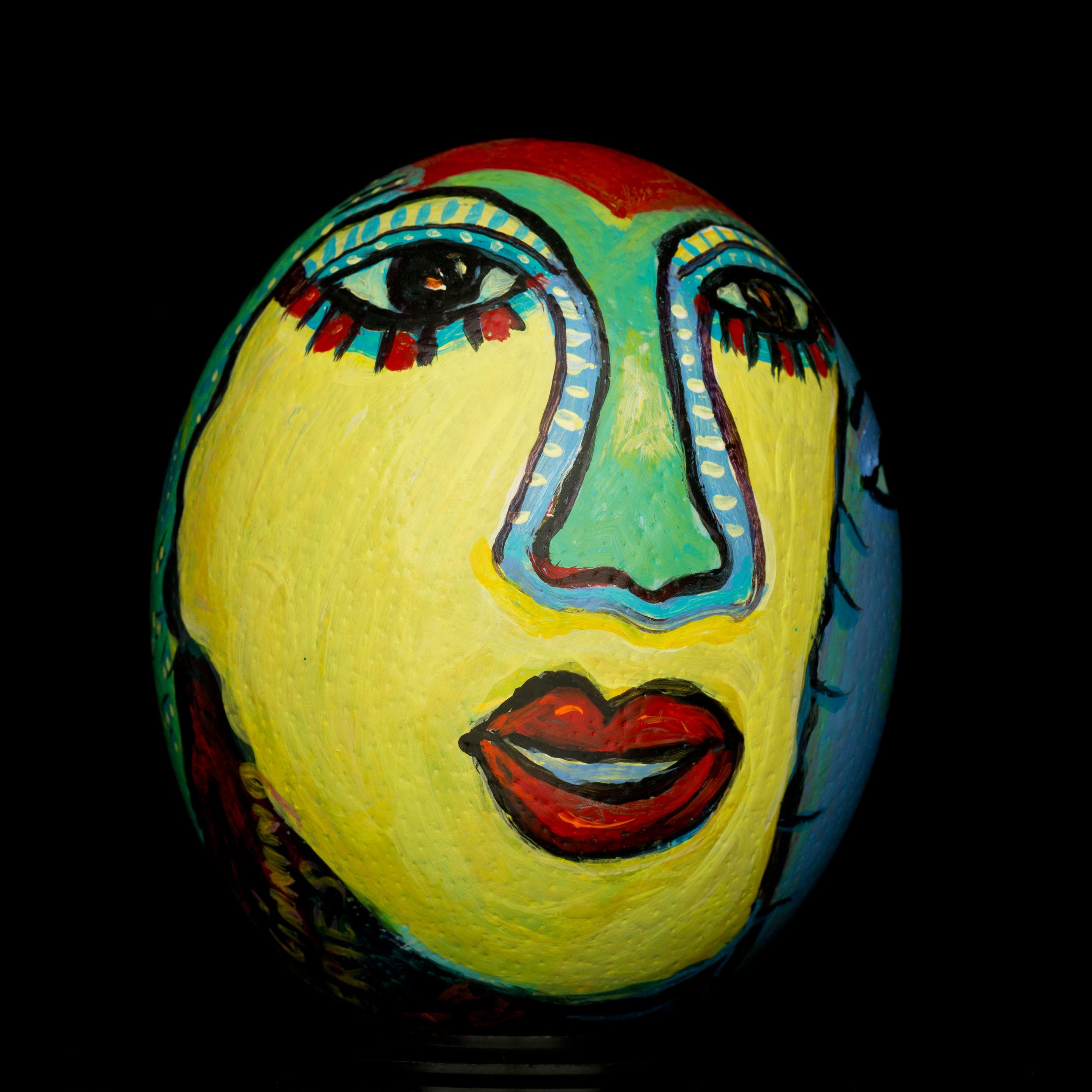 Dream Faces  . Acrylic Paint