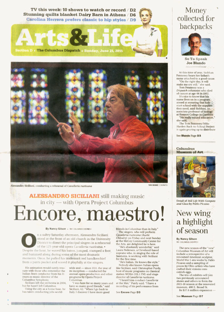 Read the June 21, 2015  Columbus Dispatch  story