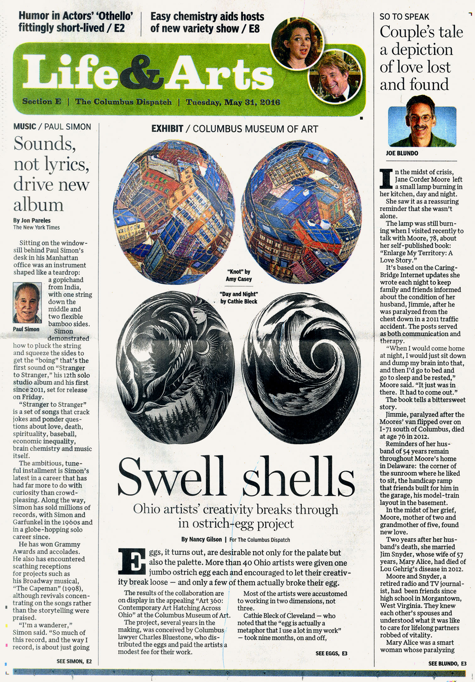 Read the May 31, 2016  Columbus Dispatch  story