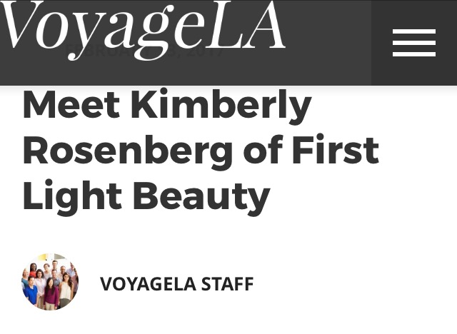 Read more about how VoyageLA highlights First Light Beauty as one of The Valley's hidden gems...