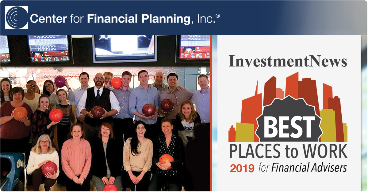 2019 Investment News Best Places to Work for Financial Advisers
