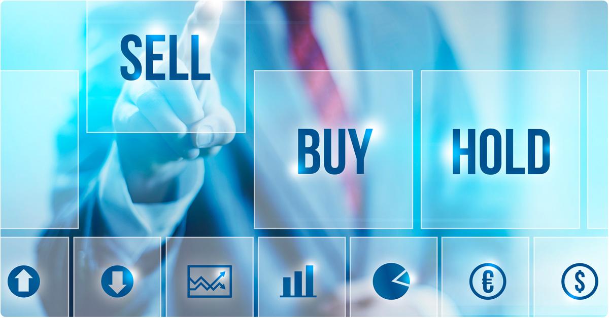sell buy hold stocks
