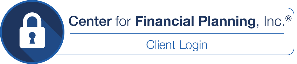 Center for Financial Planning, Inc.® Client Portal Login