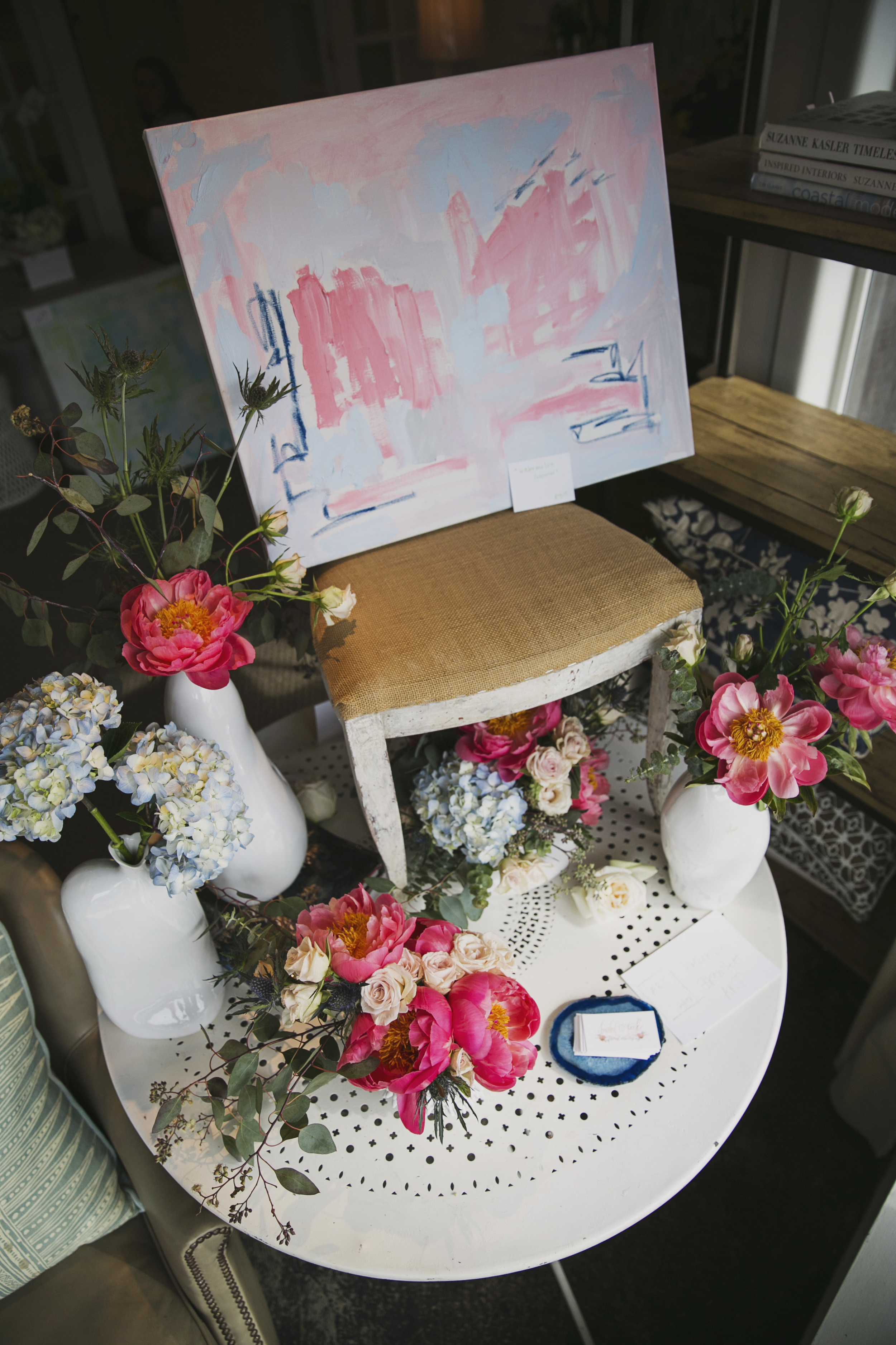 Handley Breaux Designs | Birmingham Wedding Planner | Jett Walker Photography | Blooms & Brushes