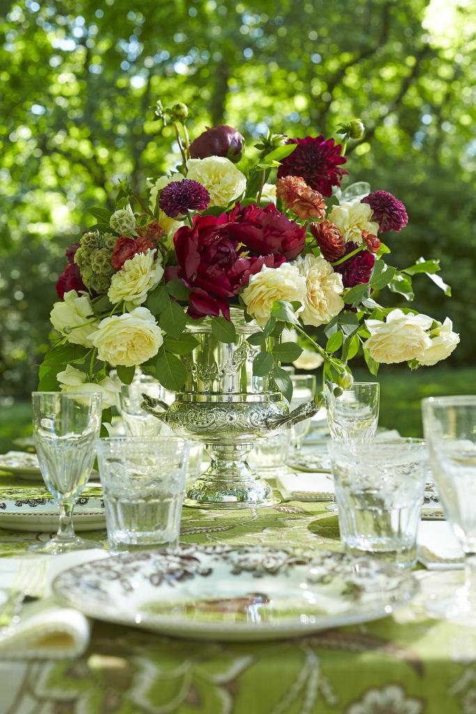 buffy hargett   handley breaux designs   birmingham botanical gardens   antiques at the gardens