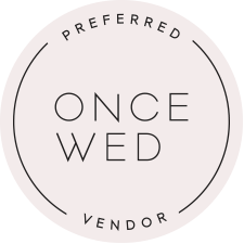 once wed preferred vendor | handley breaux designs
