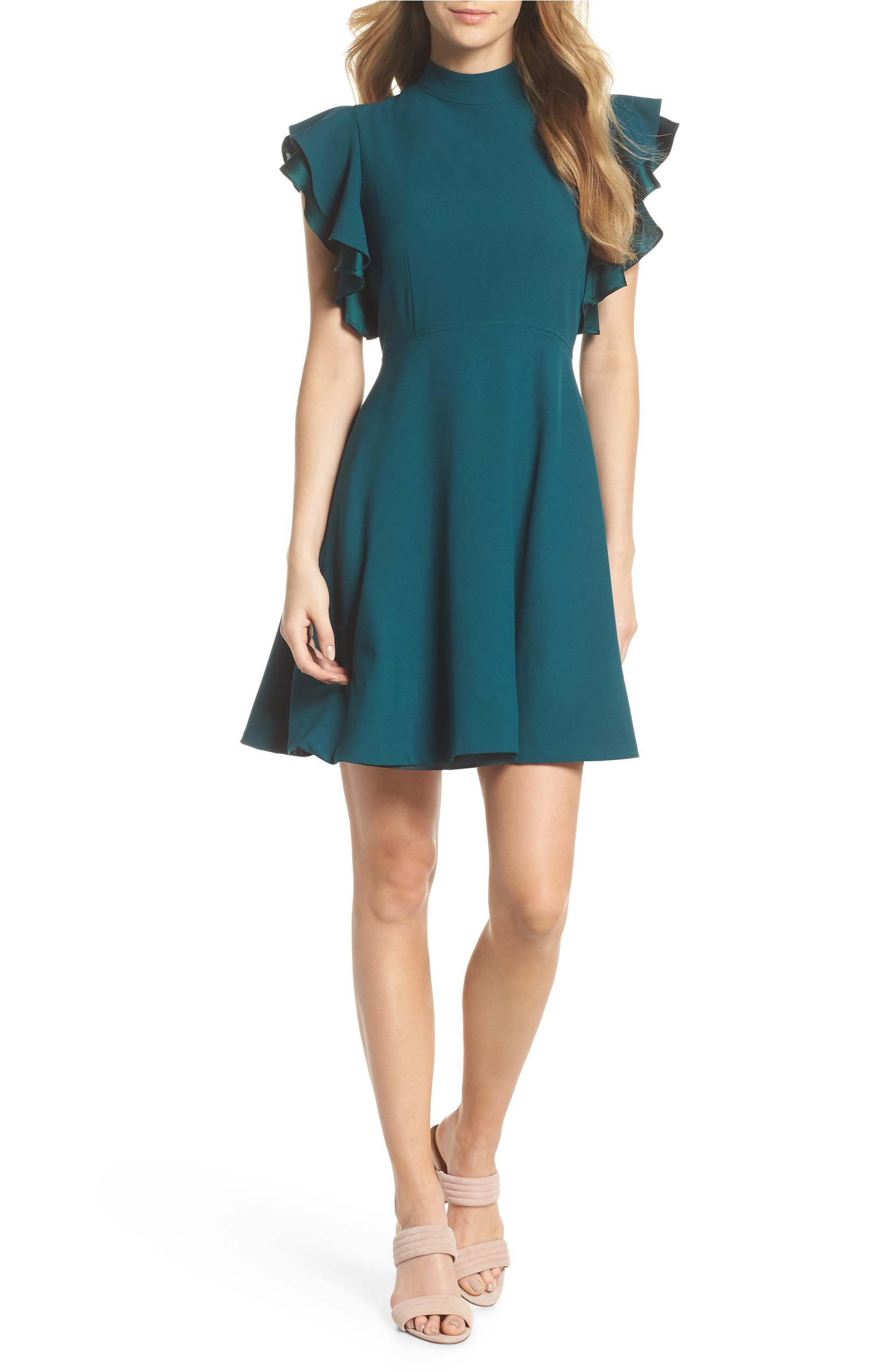 This color looks great on everyone! Shop this dress  here .