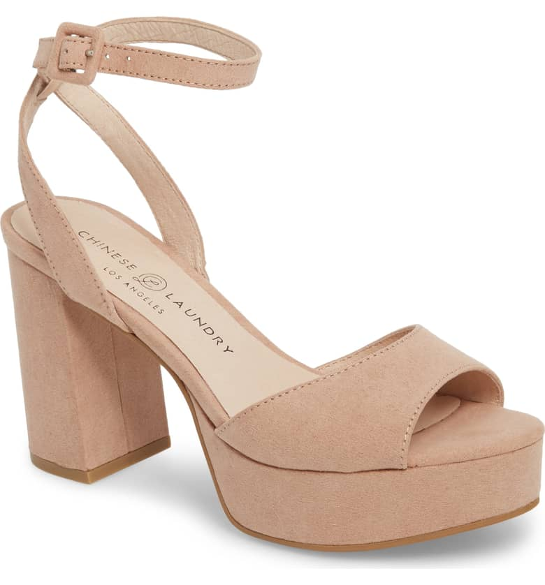 Can't go wrong with  these  nude heels. Plus they have 6 colors available!