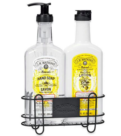 Who wouldn't love  this  JR Watkins kitchen soap/lotion pair? It's available for under $30!