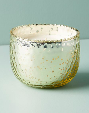 We wish our office smelled like this  Anthropologie candle  all the time! It's the perfect little gift.