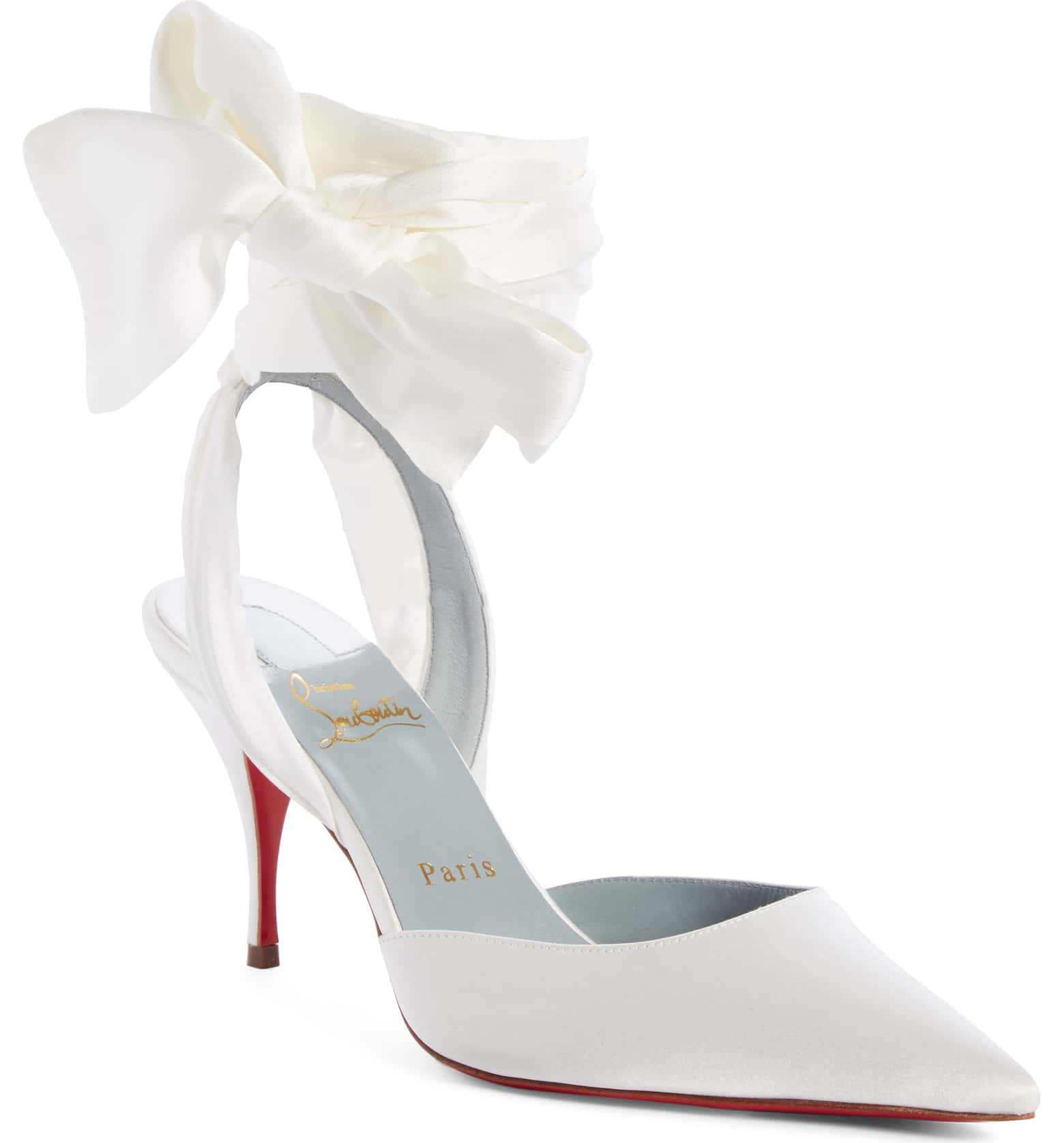 Toubinana Ankle Wrap Pump by CHRISTIAN LOUBOUTIN