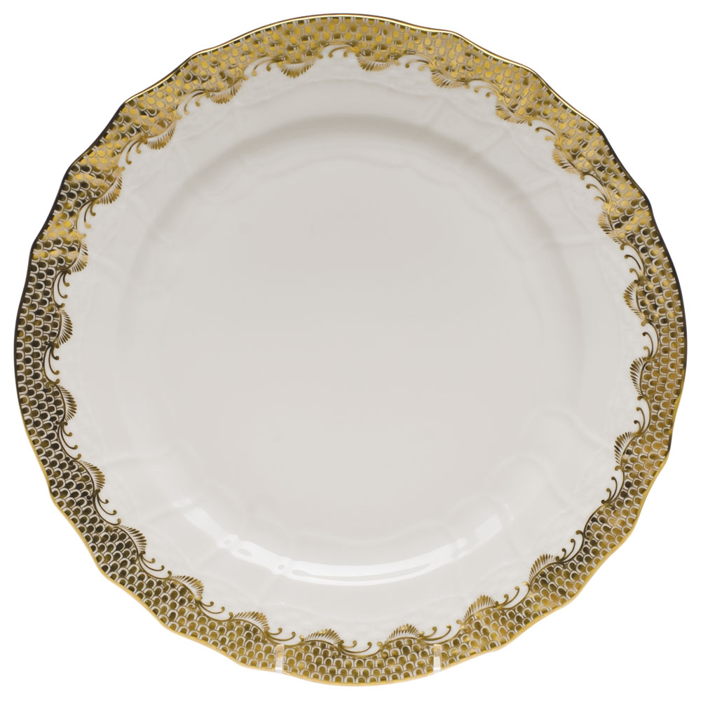 Herend Fish Scale Dinner Plate