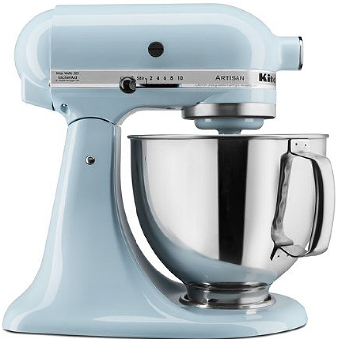 KitchenAid Mixer in Glacier Blue
