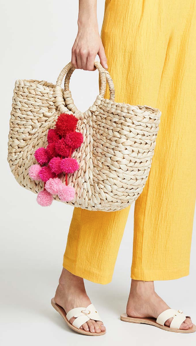 Hat Attack Straw Bag