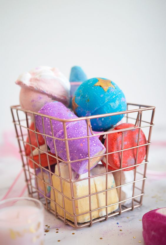 Every girl loves a bath bomb and  Lush Cosmetics  makes the best of them! They smell amazing and some even have glitter! Take your next relaxing bath with one of their many different options and maybe even get a cute insta story out of it! Because we all do it fo the 'gram right?!