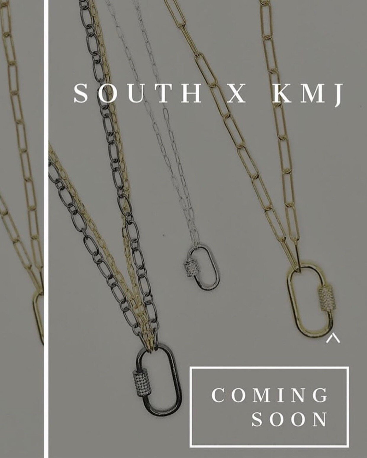 Kate Morris Jewelry  and South Boutique have decided to do an amazing collaboration! We cannot wait till these beauties hit store this week so we can support! Head on over to South at the Summit to pick up one!!