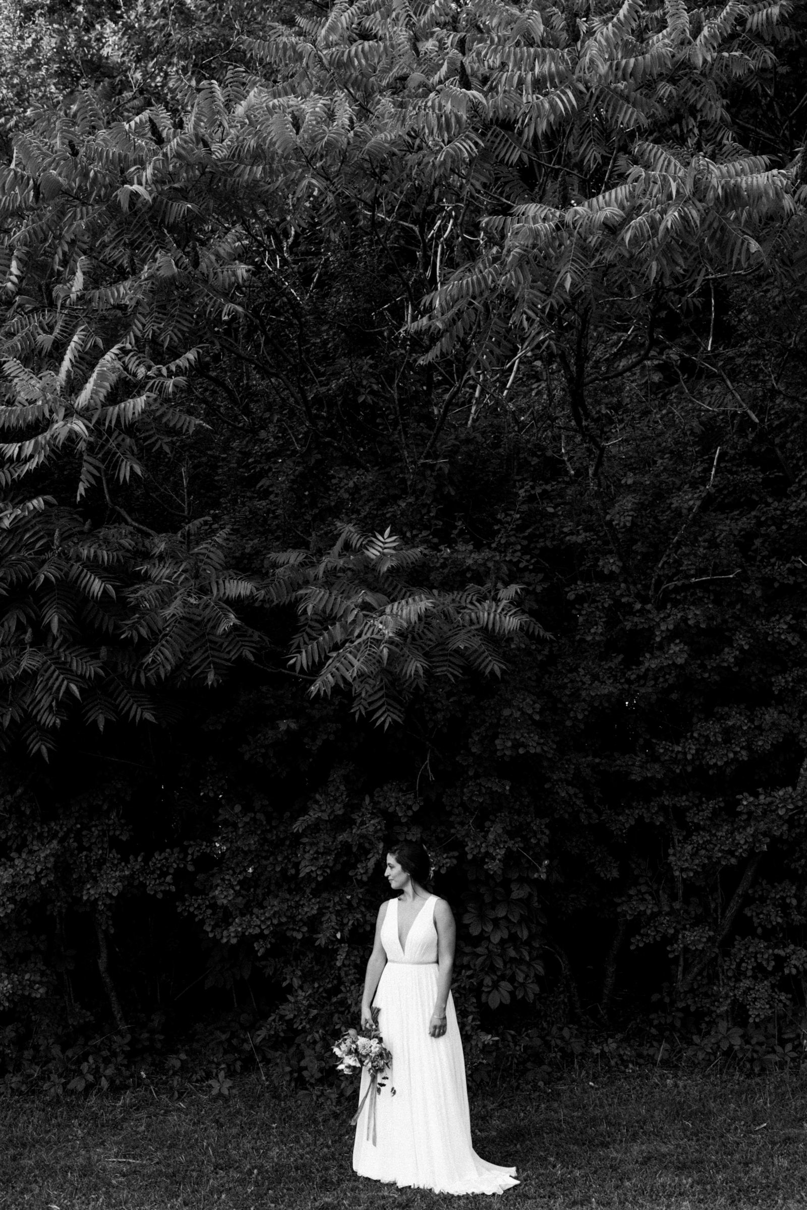 indie bride in the Berkshires