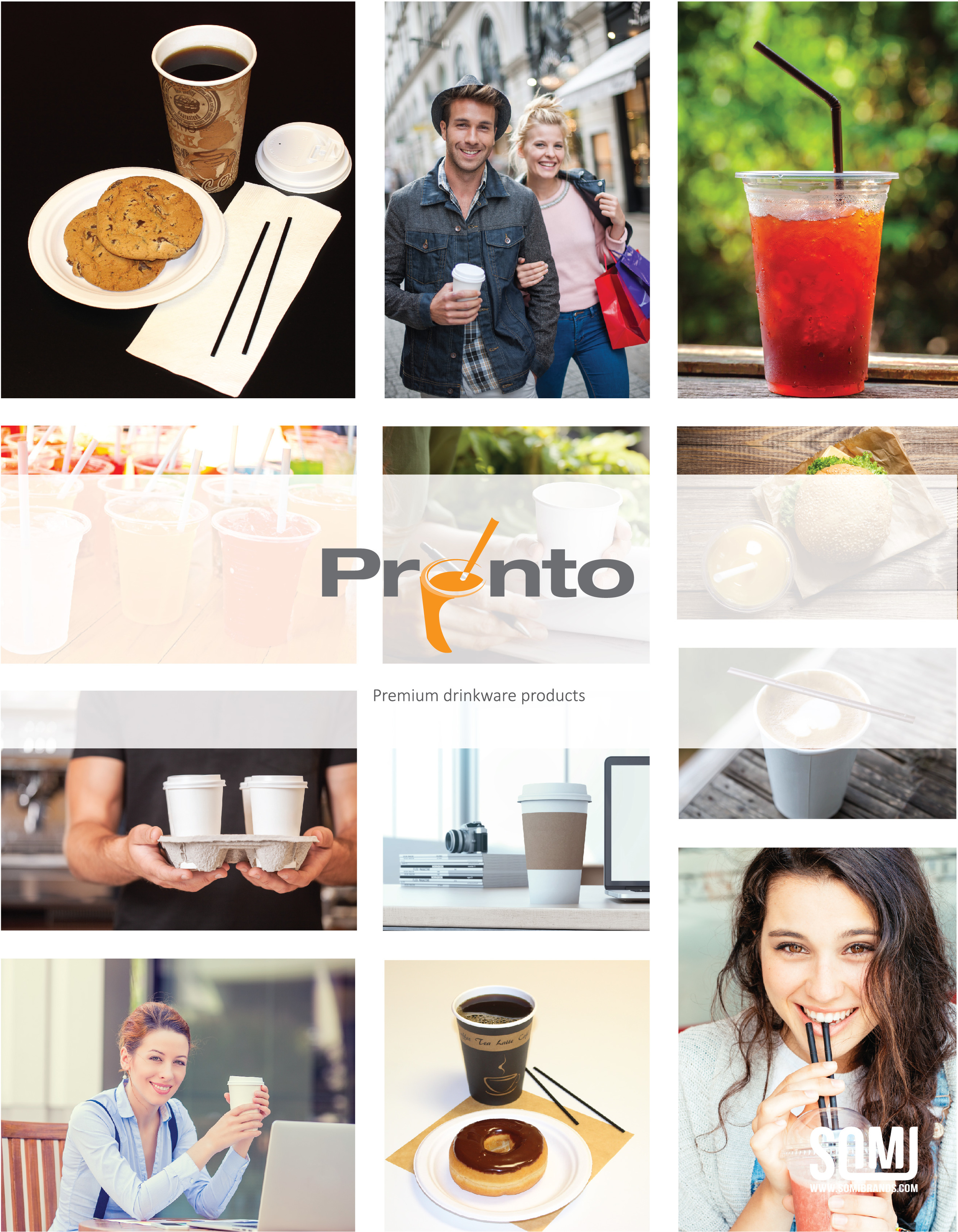 Pronto Drinkware Products Brochure