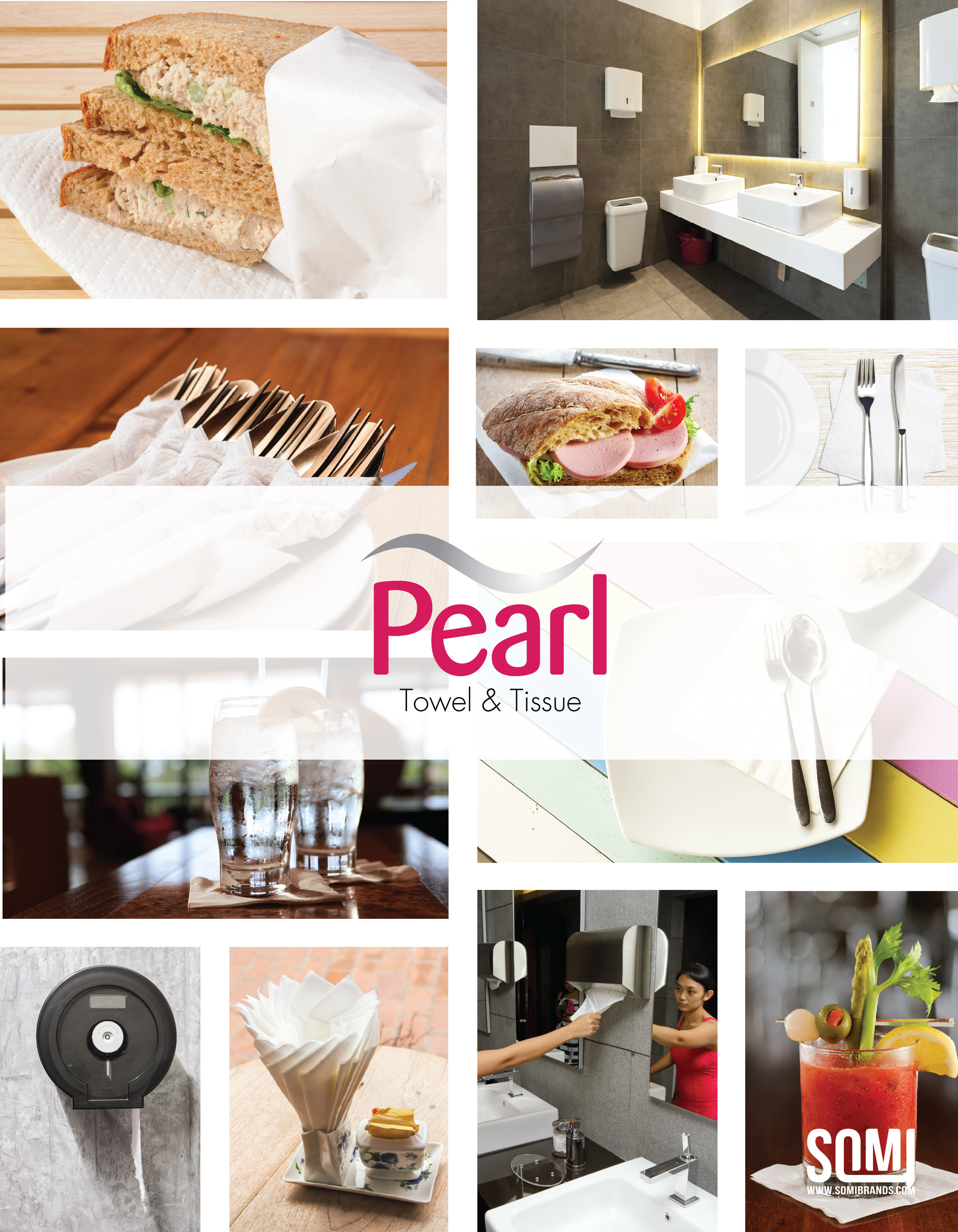 Pearl Towel & Tissue Products Brochure