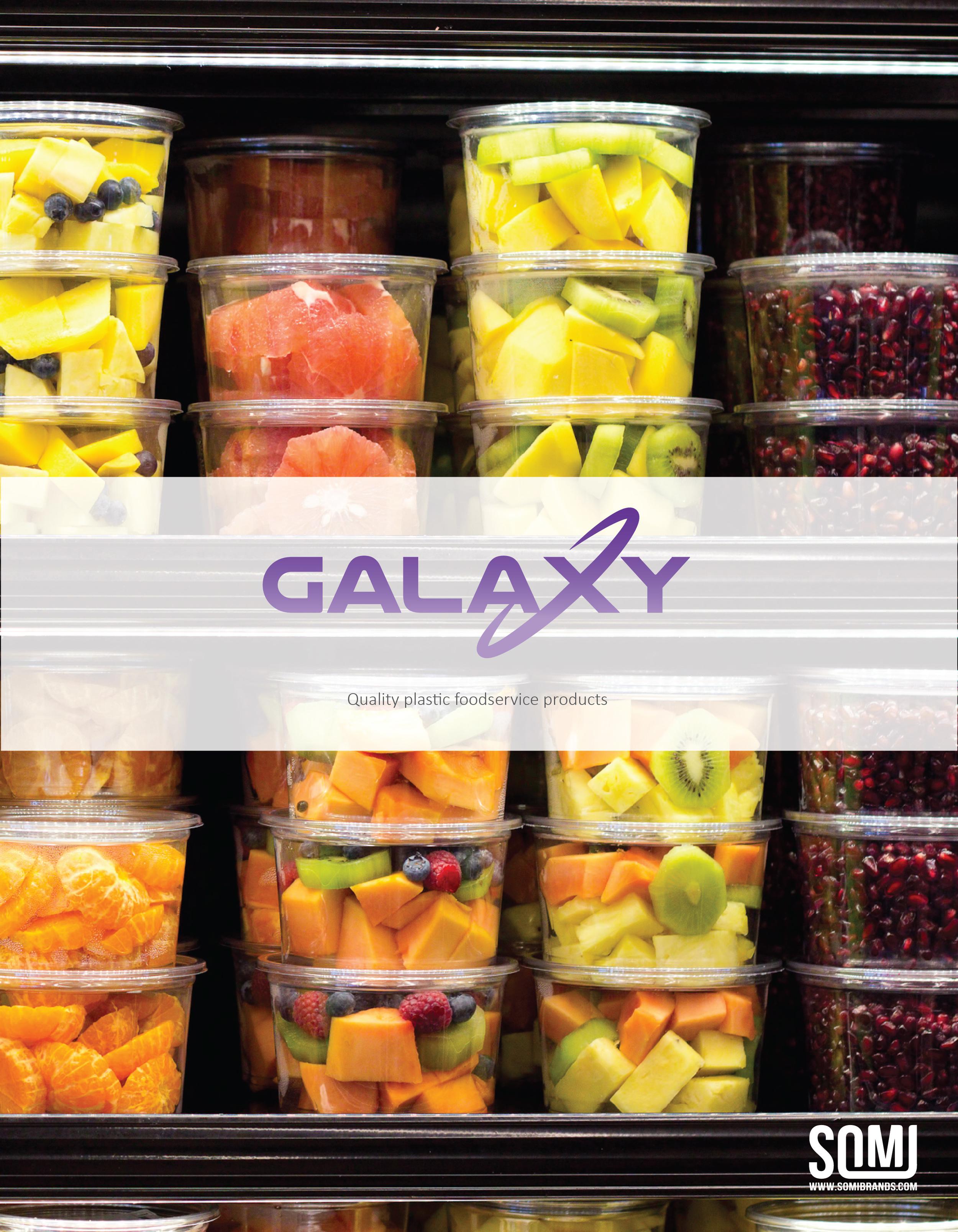 Galaxy Deli Containers Brochure