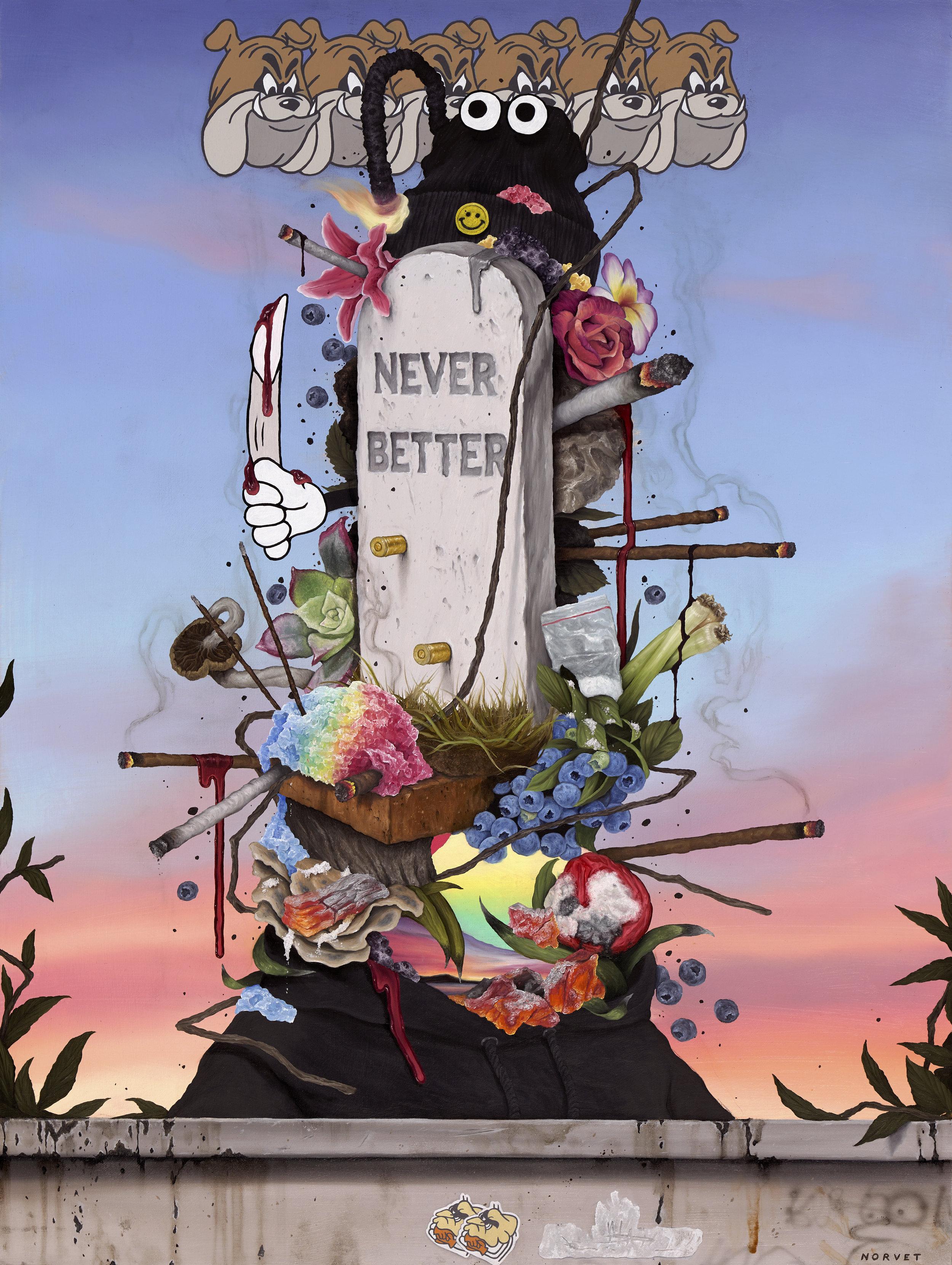 """""""Never Better"""""""