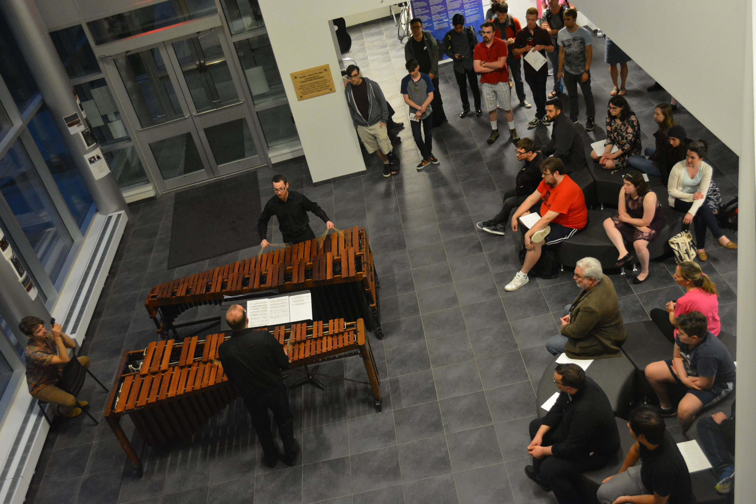 Intermission Performance in Zankel Lobby