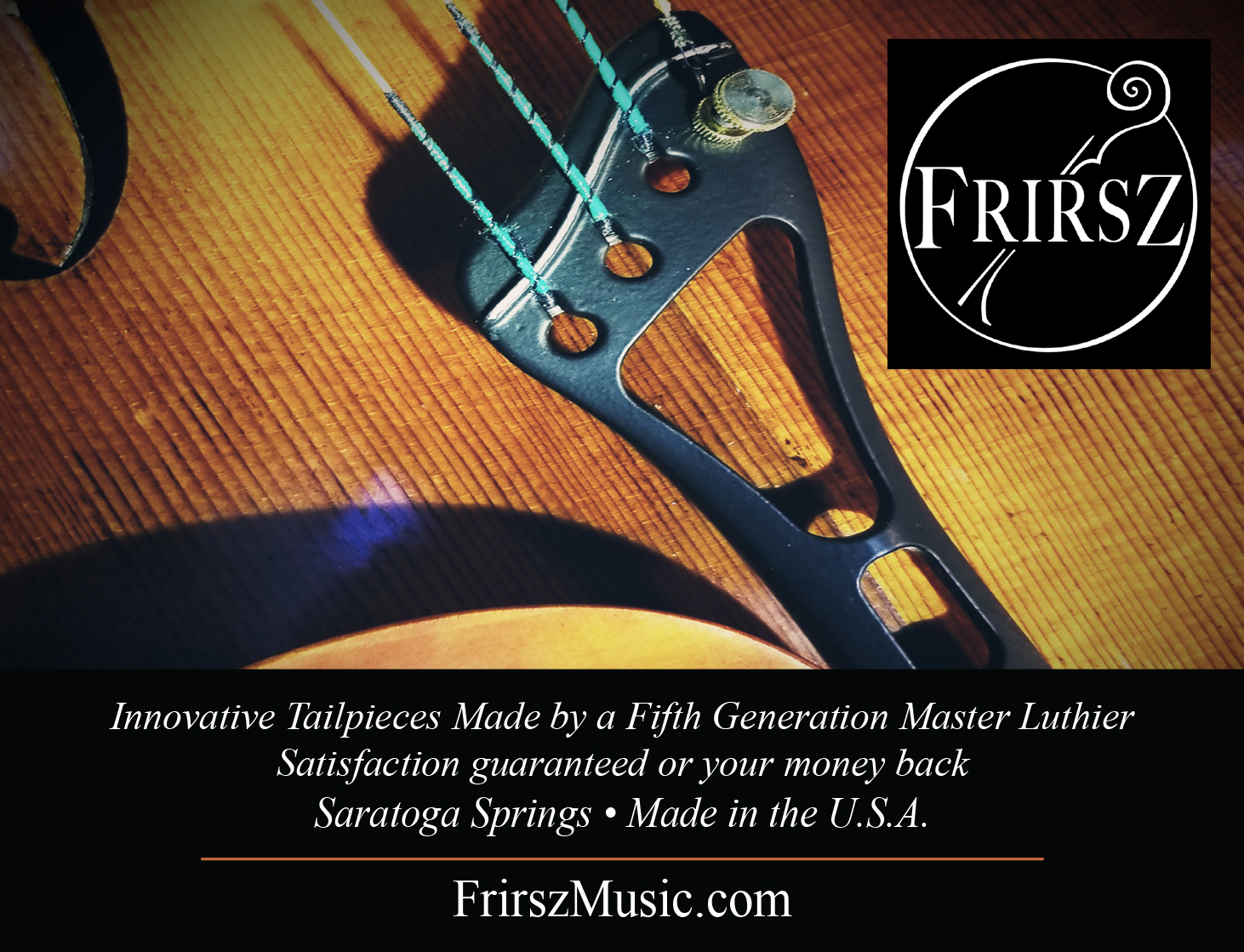 Frirsz Music: Luthier