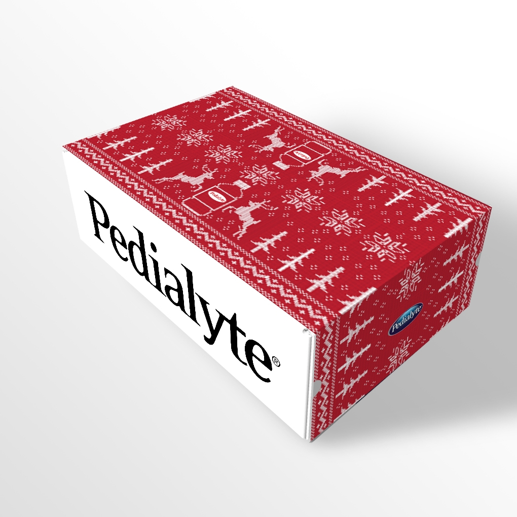 Pedialyte New Years Eve Surprise and Delight Kit—Scandinavian Knit Concept