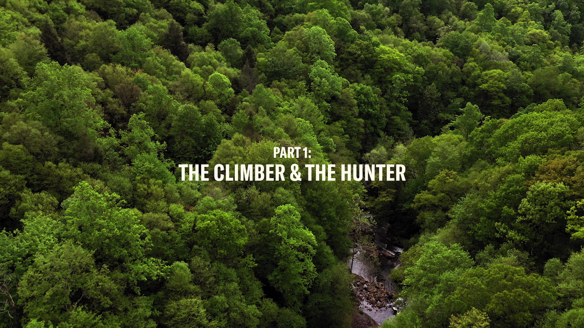 THE CLIMBER & THE HUNTER