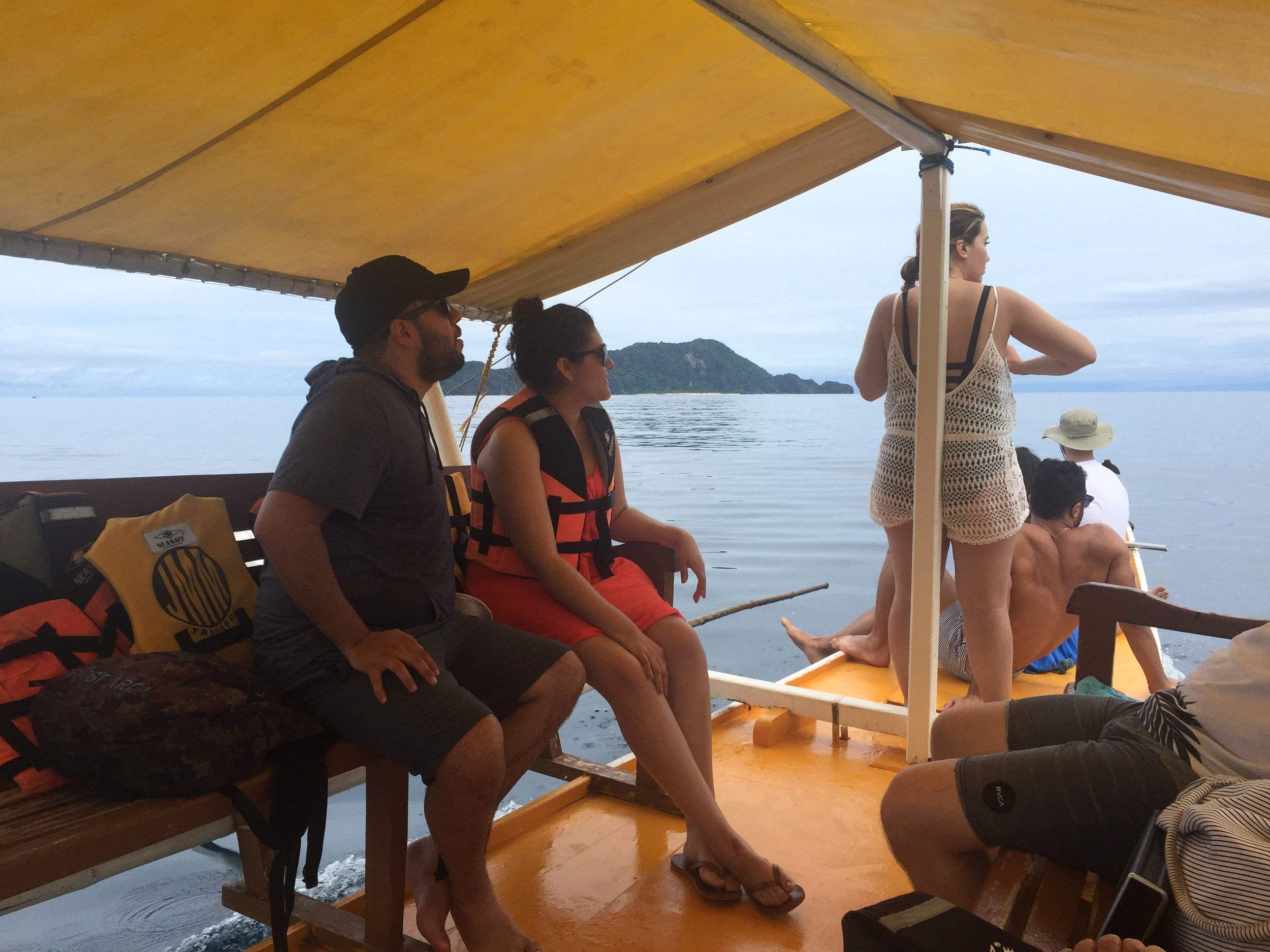A four hour boat ride to Calauit...