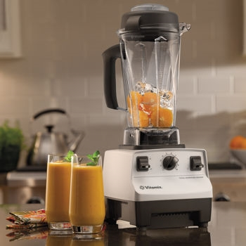 Vitamix   - I can't live without this. I'm not even sure how I survived through my 20's without it.  You can make smoothies, soups, juices, dips, nut milks, pie fillings and so much more. Costco carries them more on the affordable side - though you will be forking out nearly $500 to get your hands on one.