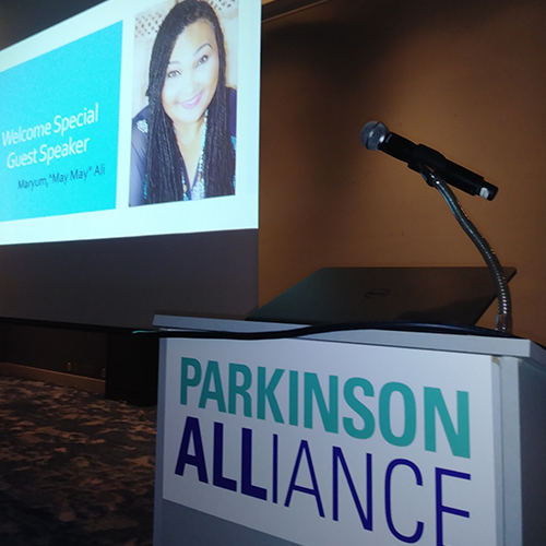 Parkinson's Disease  Advocate for Parkinson's disease awareness and research.