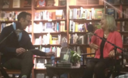 I had no fun at all talking about the Bookseller with  Colorado Public Radio's Ryan Warner  at the  Tattered COver , March 3, 2015.