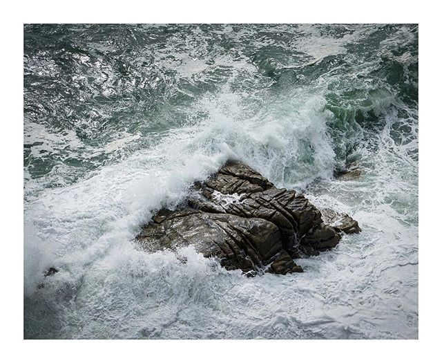 #waves & #rocks