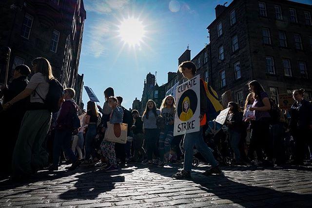 #Globalclimatestrike #Edinburgh @gretathunberg thank you  #systemchangenotclimatechange #fridaysforfuture