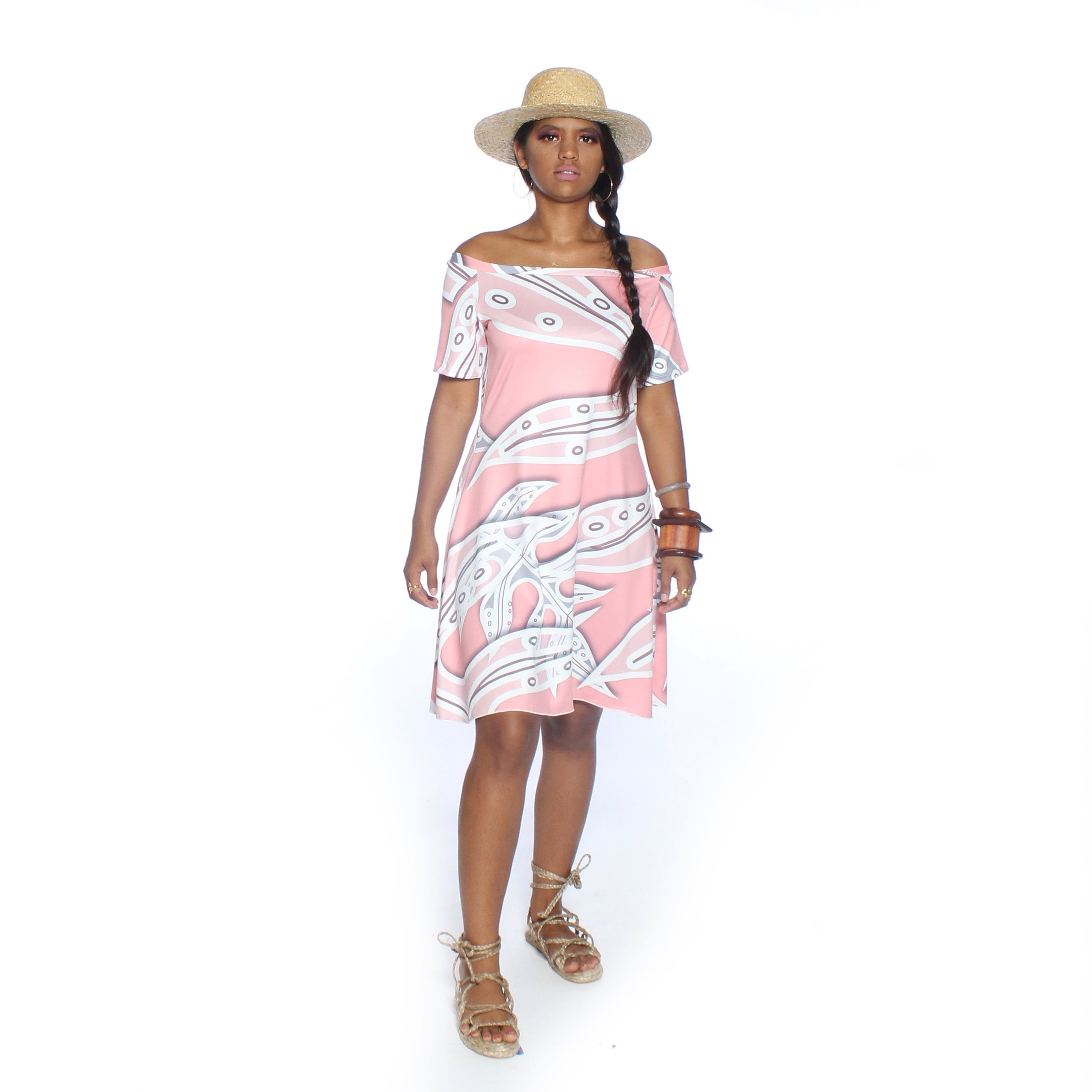 CORAL OFF THE SHOULDER TUNIC.jpg