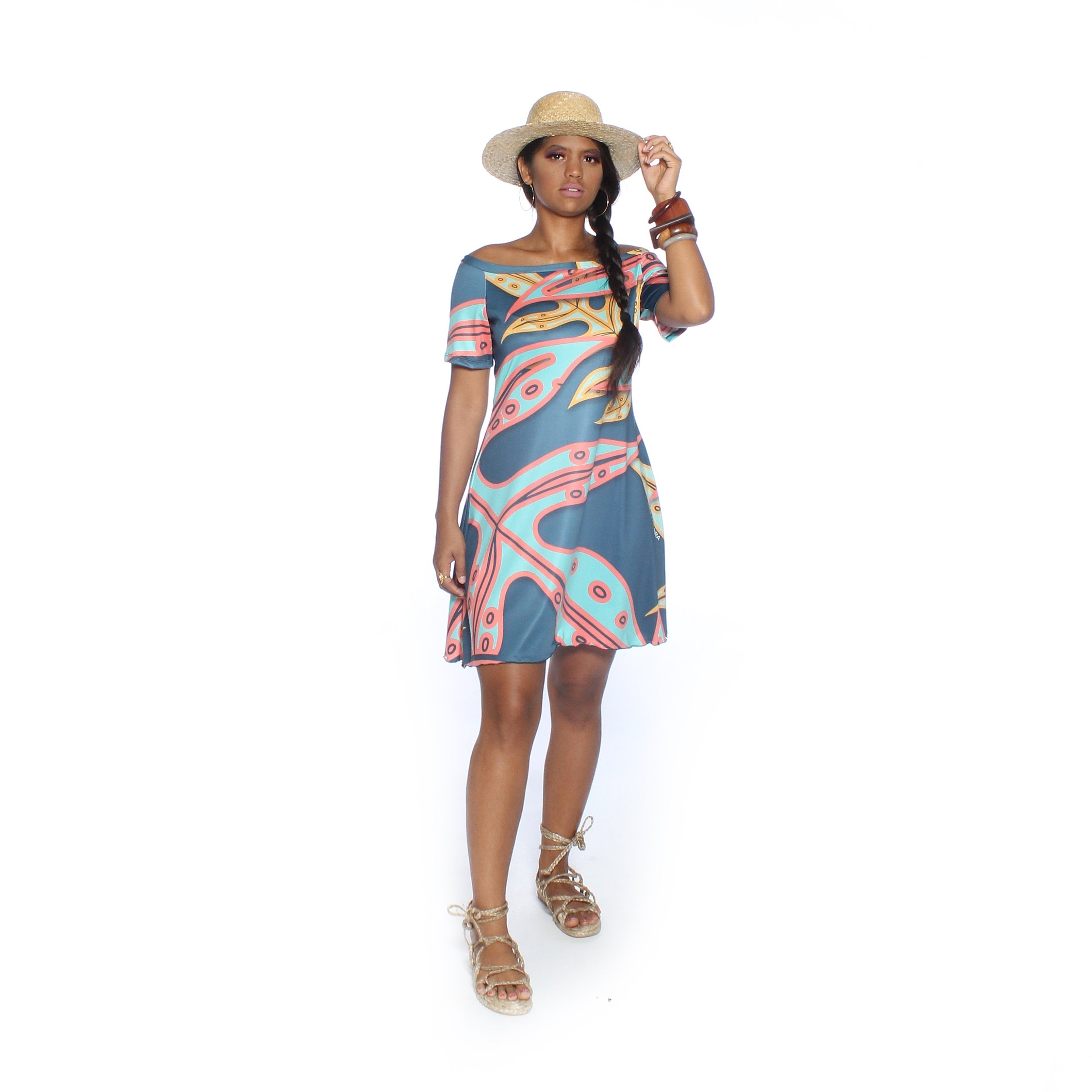 TROPICAL OFF THE SHOULDER TUNIC.jpg
