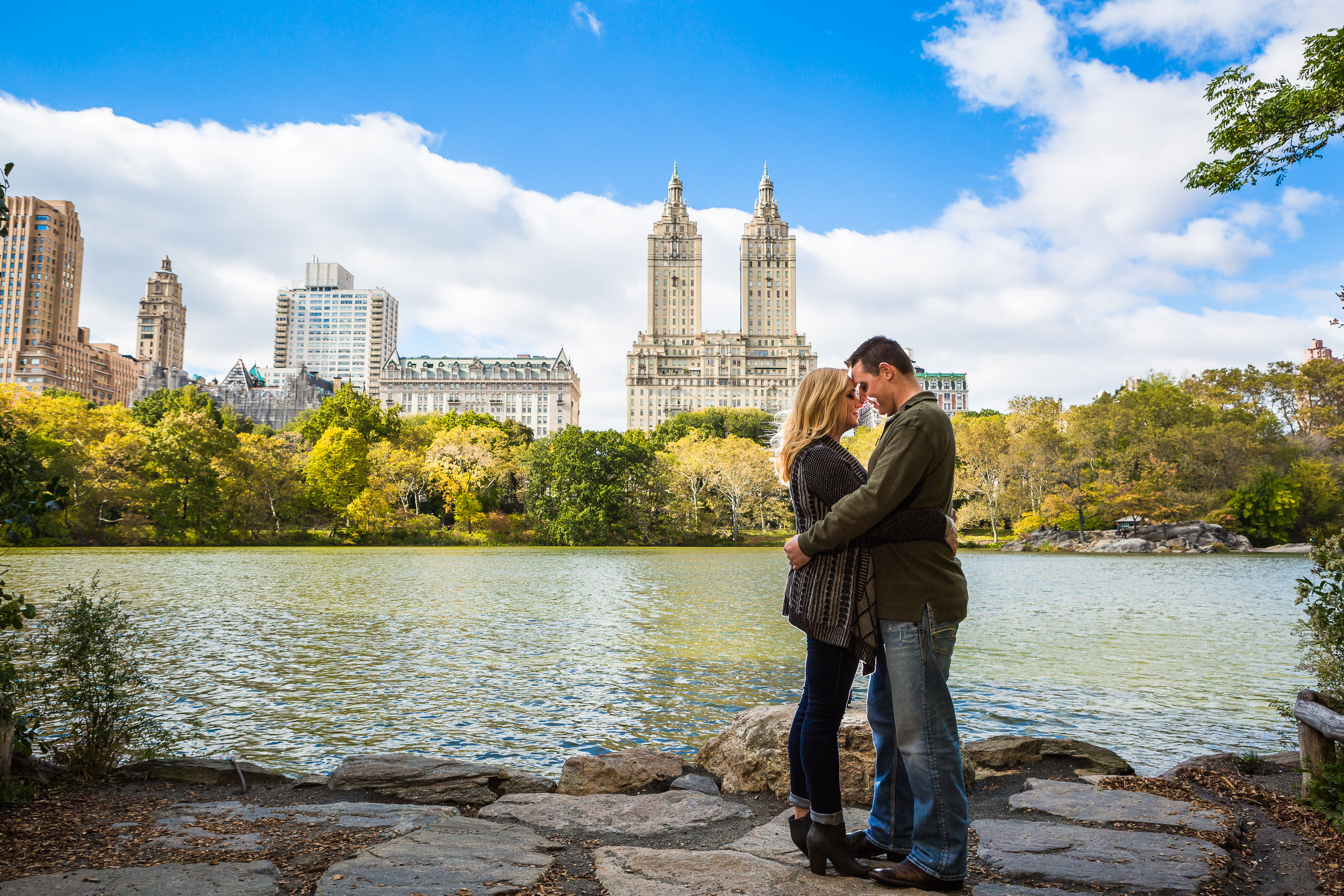 Central Park New York Engagement Photos