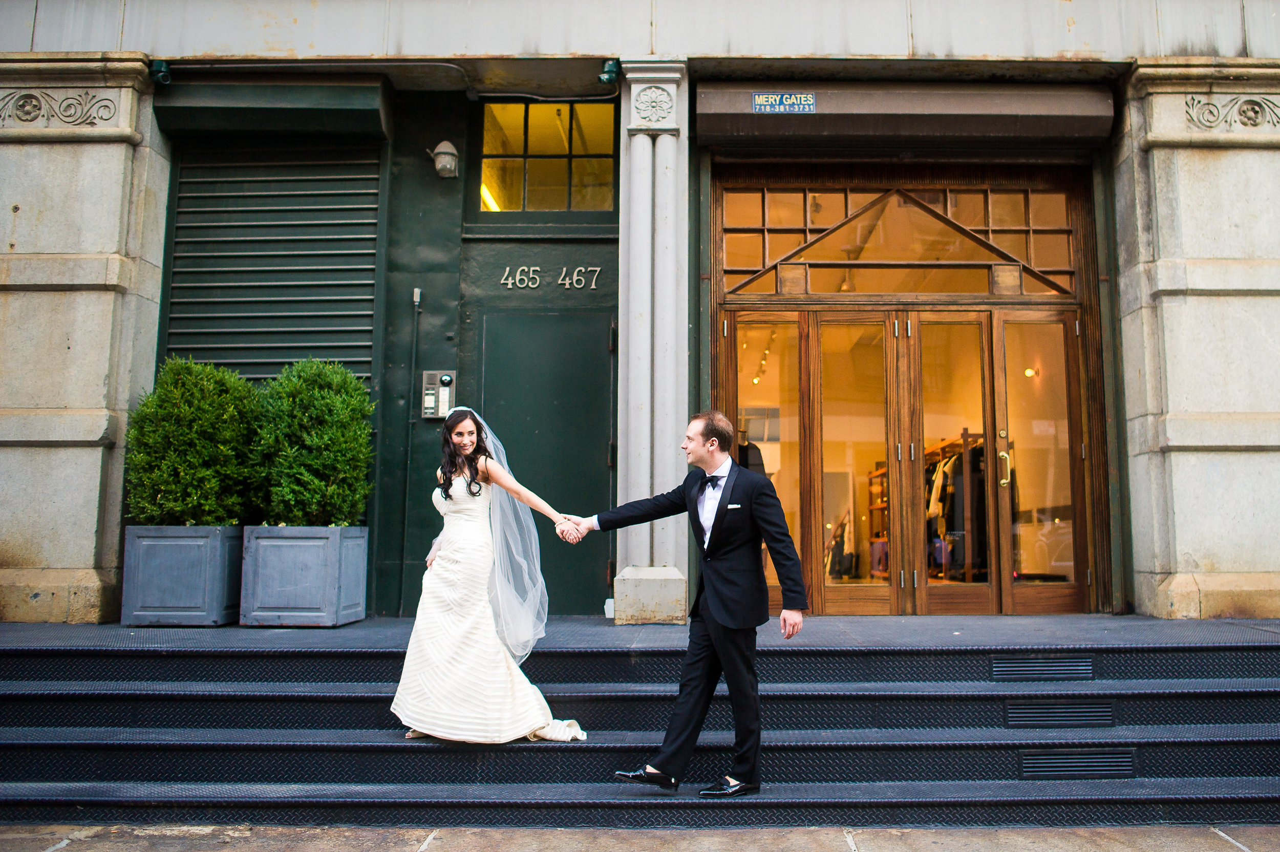 New York City Wedding Photography in Soho