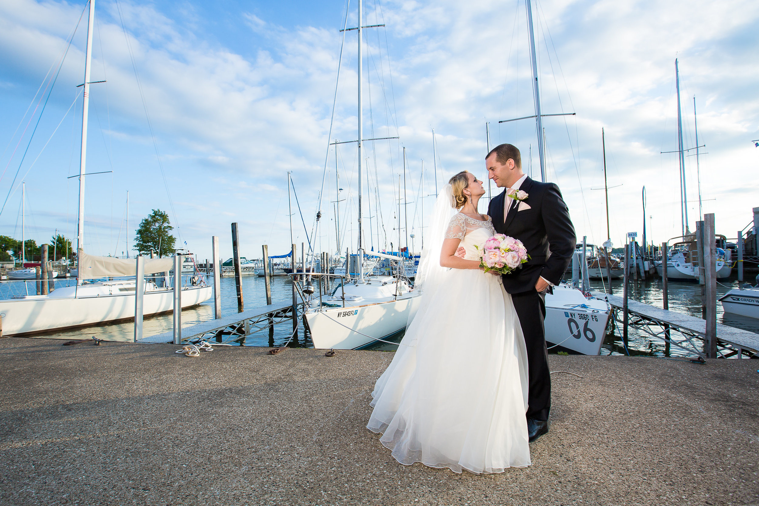 Buffalo Yacht Club New York Wedding Photography