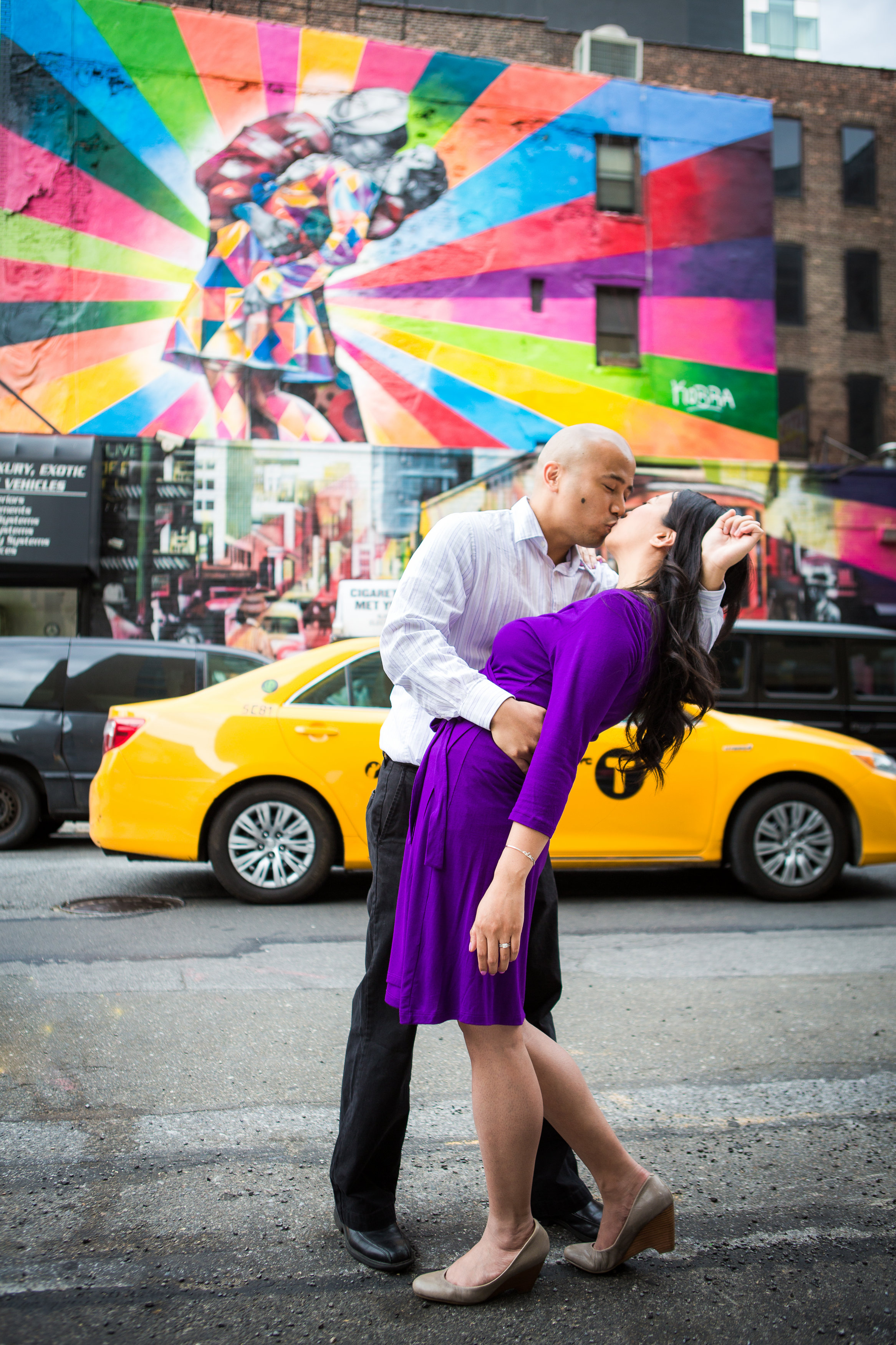 The Highline NYC Engagement Photos