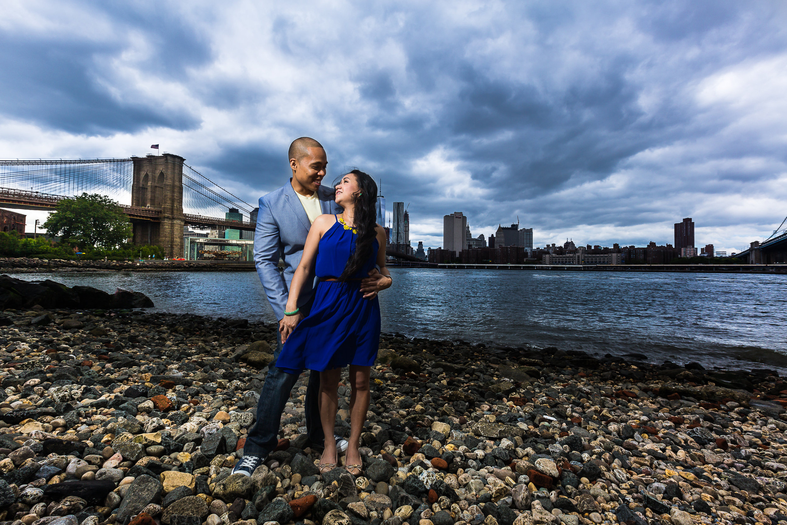 DUMBO Brooklyn NYC Engagement Photography