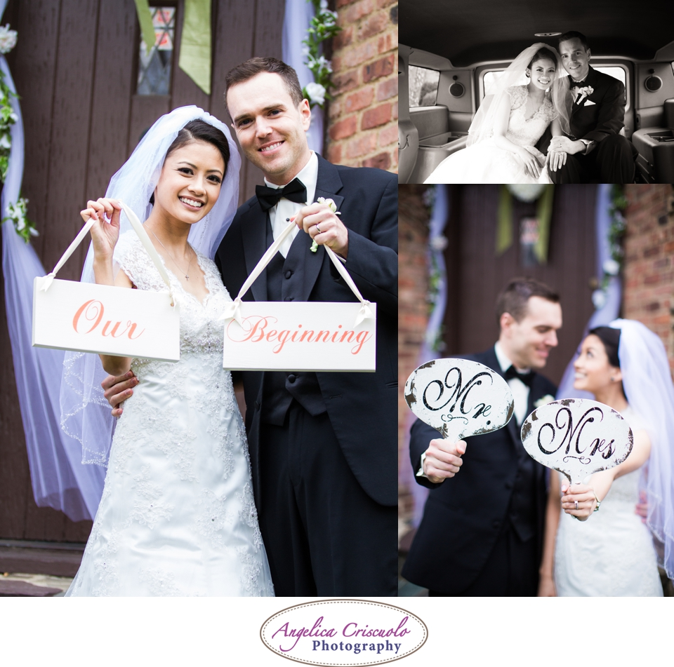 NYC Wedding Photography in Queens NY Jamaica Estates Signs Photos Our Beginning