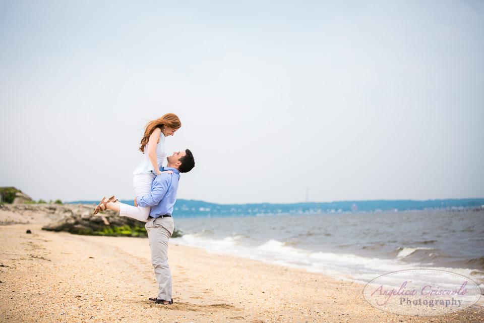 NJ Wedding Photographer Fort Hancock Beach Engagement Ideas 007