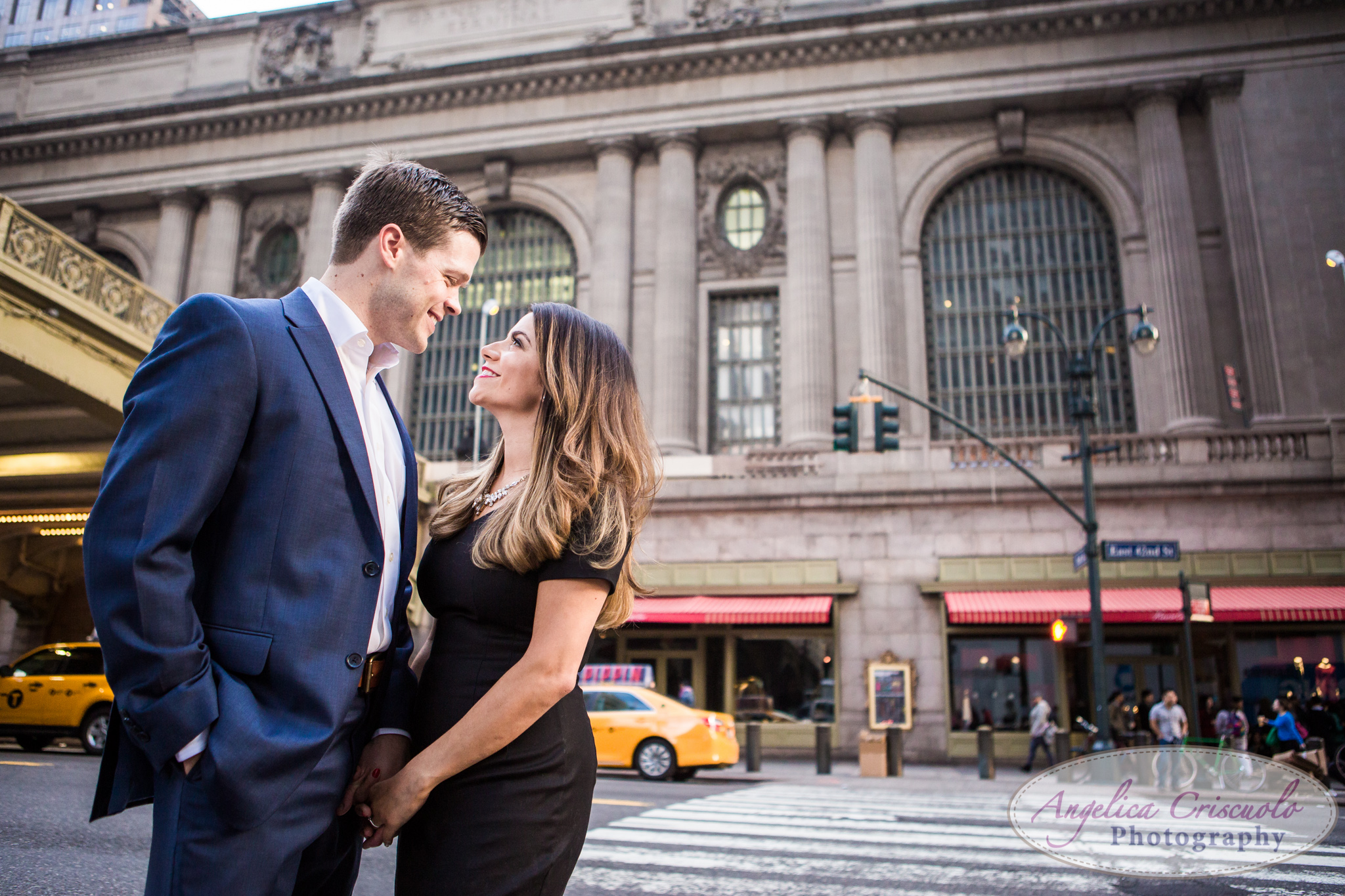 NYC Grand Central Terminal Photos engagement ideas