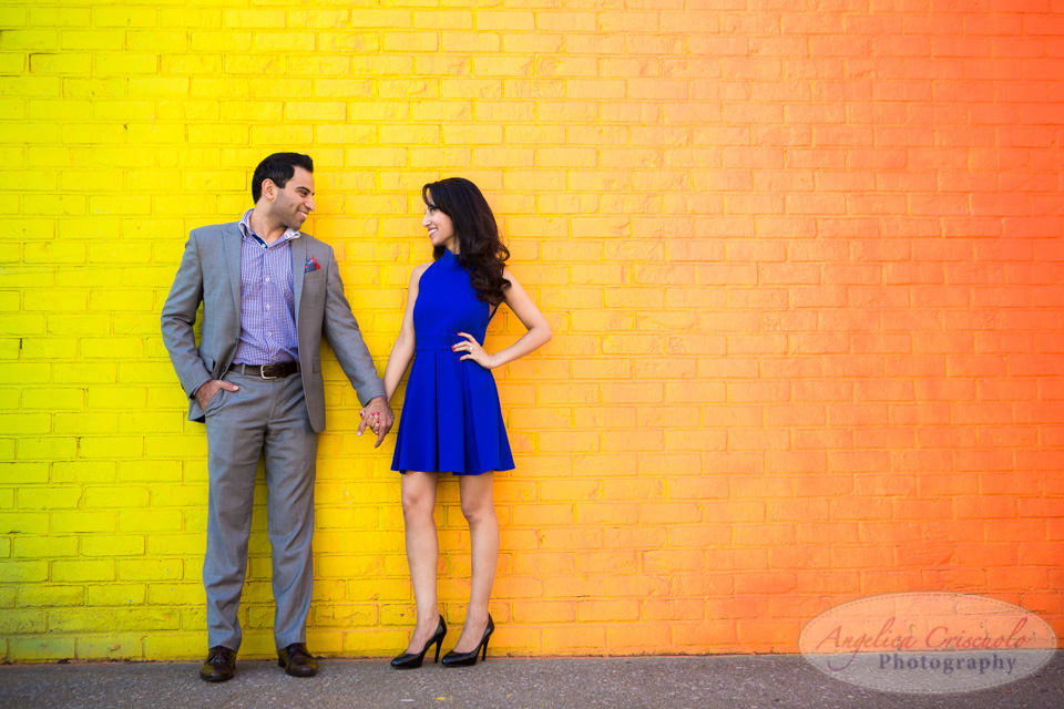 brooklyn dumbo engagement photographer photos editorial in DUMBO graffiti ideas
