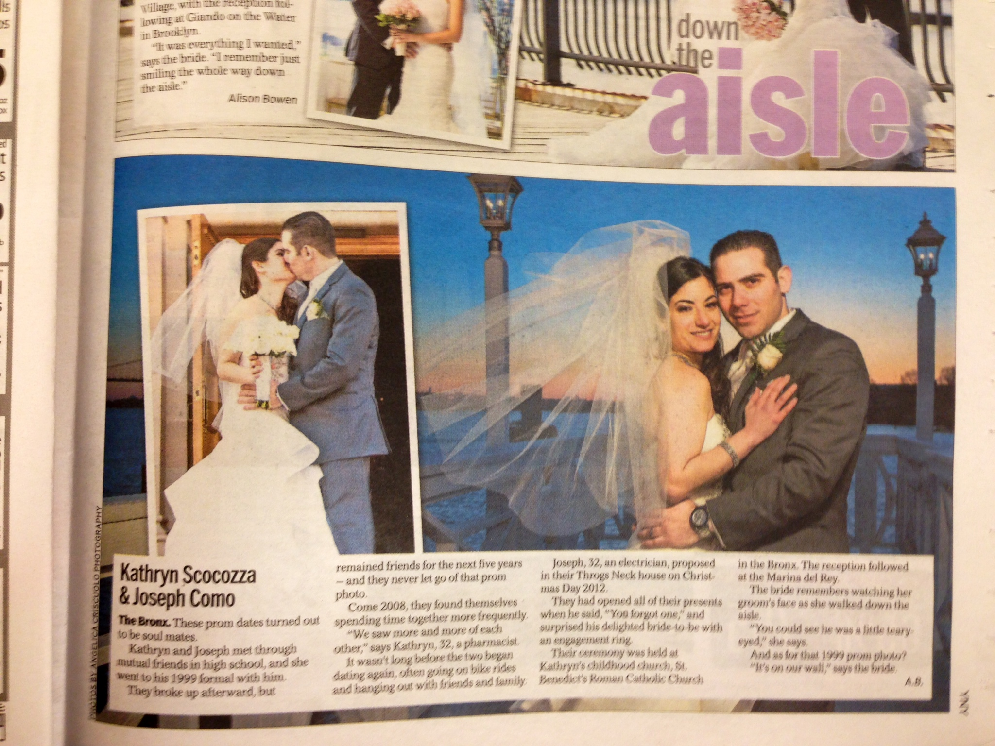 NY Daily News_DownTheAisle_AngelicaCriscuoloPhotography_Bronx_New_York_Wedding_Photographer