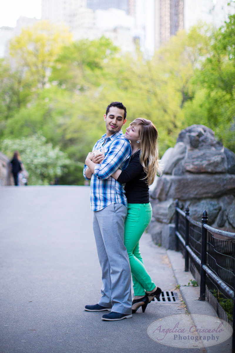 engagement photos central park