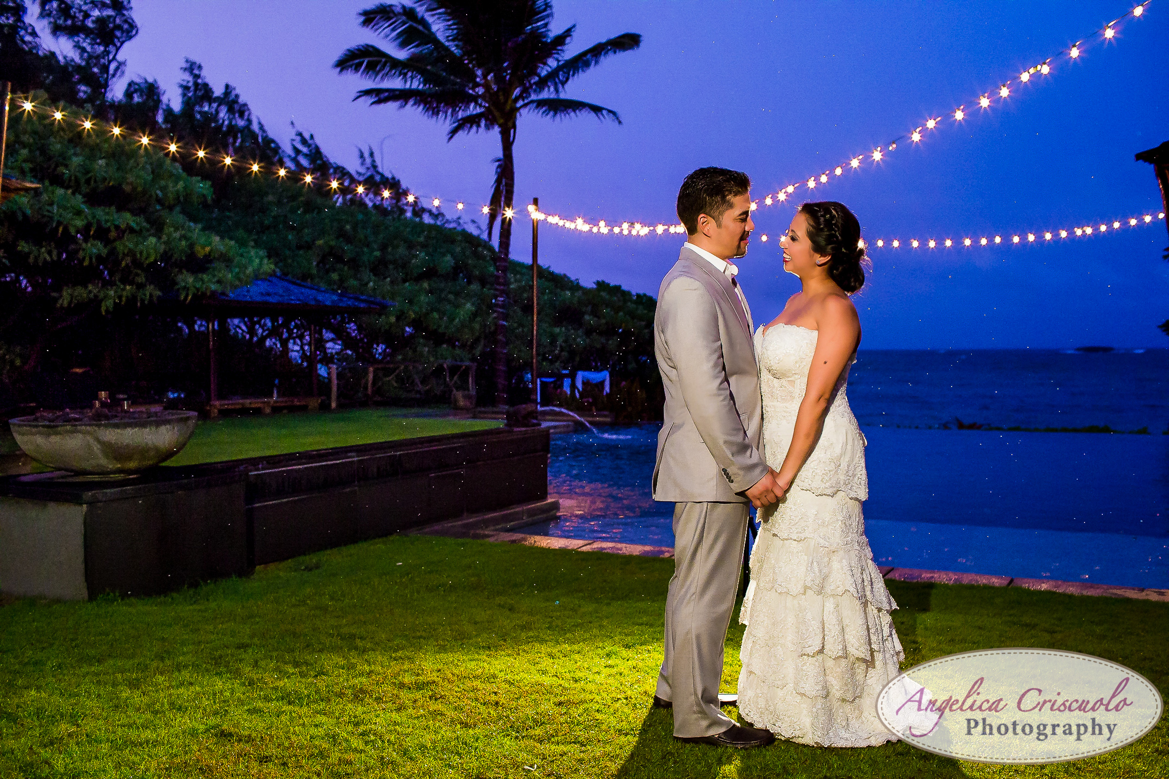 Sunset Hawaii Oahu wedding photography ideas on the north shore sunset photos